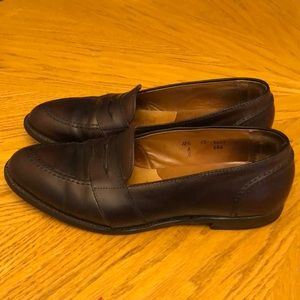 Alden Penny Loafers Merlot Brown Leather 11.5 A/C